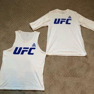 Reebok UFC Bundle - Tank Top and LS Shirt